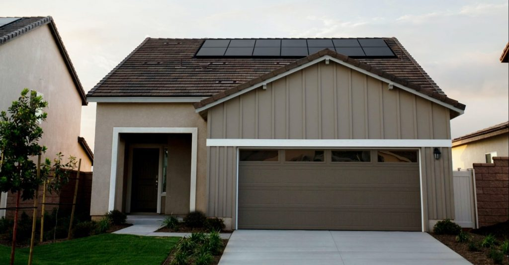 Solar powered homes of the future